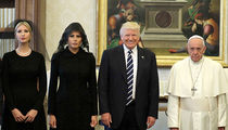 Donald Trump Meets Pope Francis, Smiley Face, Frowny Face (PHOTO)