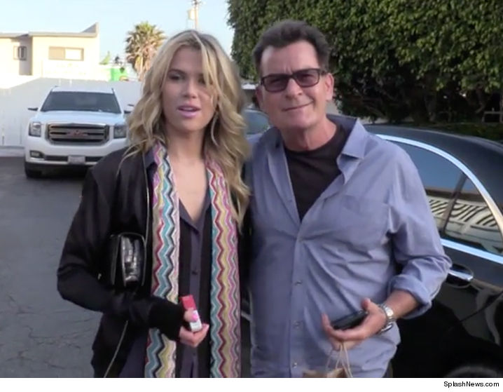 Charlie Sheen is dating former nanny