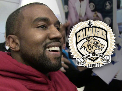 Kanye West Gunning for Yeezy Deal with Calabasas High School