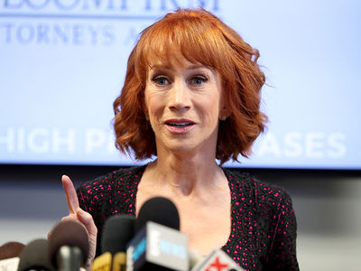 Kathy Griffin Gets Ax from Last Theater in Comedy Tour