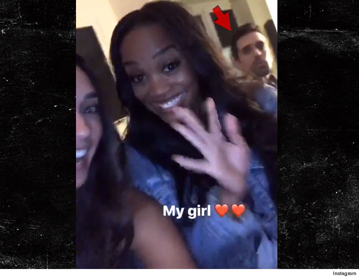 Bachelorette Rachel Lindsay Has Bachelor Nation Up In Arms Because A Video Of Her Partying With Dude Appears To Totally SPOIL The Ending