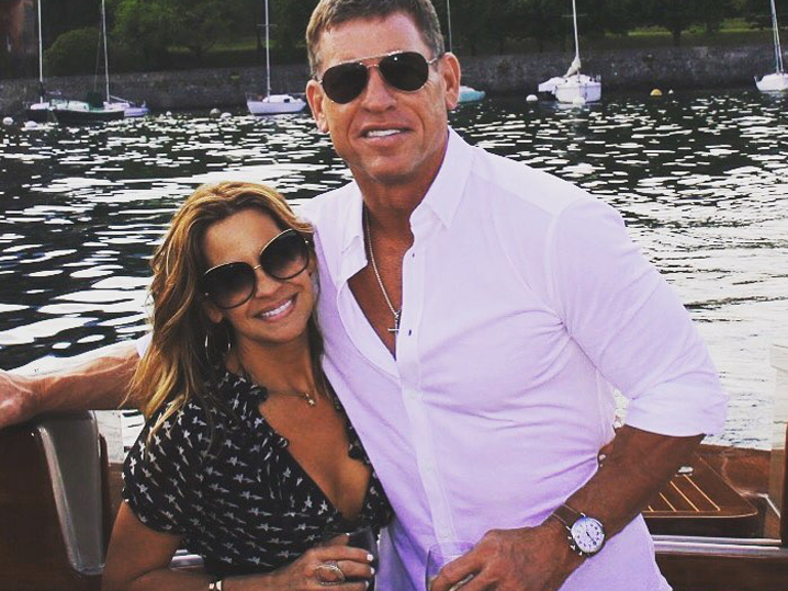 Hall of Fame Quarterback Troy Aikman Is Engaged!