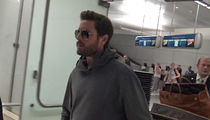 Scott Disick Bombarded with Girl Questions After Returning Home from Cannes (VIDEO)
