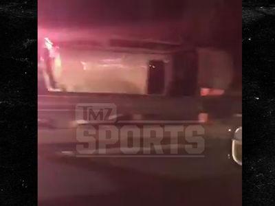 Derek Fisher Car Crash Footage Shows Wreckage Before DUI Arrest (VIDEO + UPDATE)