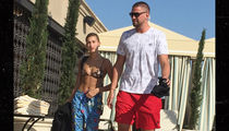 Hailey Baldwin Bikini Sunbathing with NBA Star Chandler Parsons (PHOTOS)