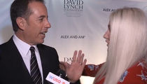 Jerry Seinfeld Snubs Kesha, Appears to Have No Clue Who She Is (VIDEO)