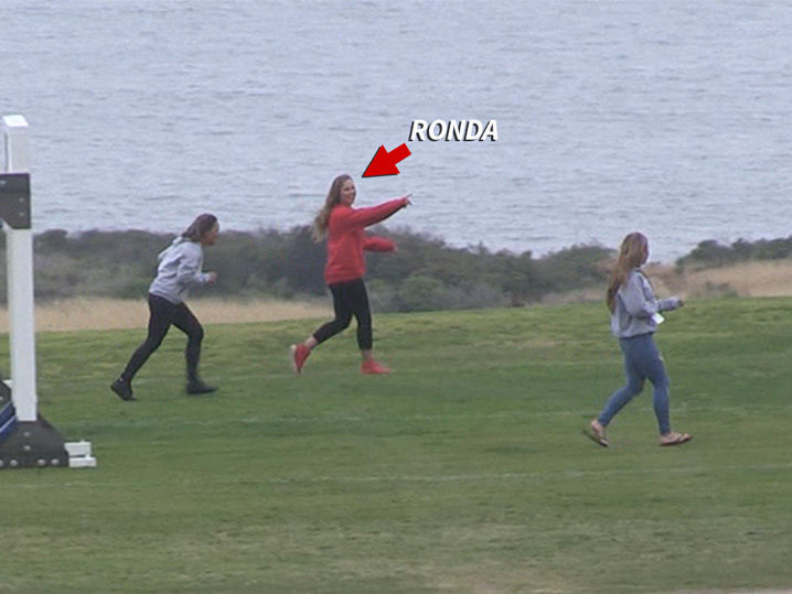 Ronda Rousey Crushes 'Battle' Obstacle Course, Friends Not So Much