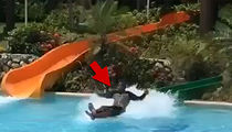 Water Slide Viral Video, Strong Sign It's a Fake, But ... (VIDEO)