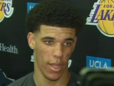 Lonzo Ball Says LaVar Won't Be a Distraction to L.A. Lakers (VIDEO)