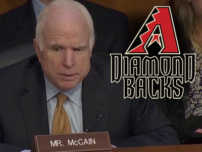 John McCain Blames Diamondbacks for Weird Comey Questioning