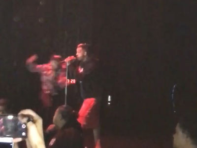 XXXTentacion Knocked Out Onstage, One Person Stabbed (VIDEOS)