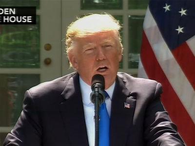 President Trump Denies Comey Testimony, Says He'd Do So Under Oath