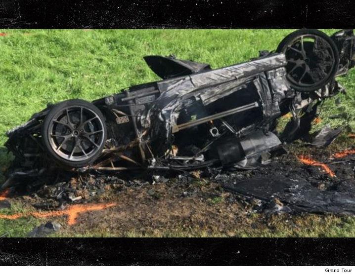 Fiery Car Crash Video