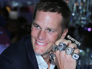 New England Patriots Ring Ceremony