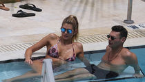 Ryan Seacrest Enjoys PDA with Girlfriend Shayna Taylor Poolside in Miami (PHOTO GALLERY)