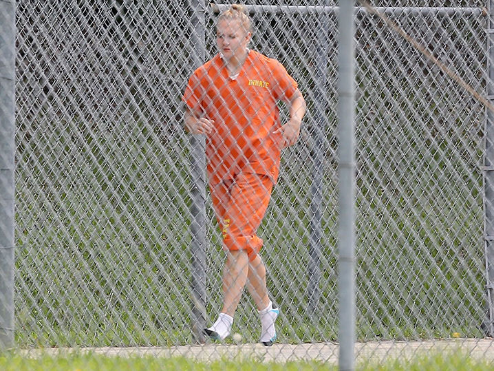 Reality Winner Still Working Out Behind Bars Tmz Com