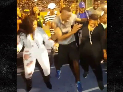 Usain Bolt Dances His Face Off After Final Race In Jamaica