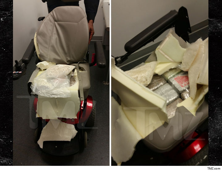 Woman busted with 27 lbs. cocaine in wheelchair