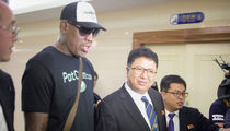 Dennis Rodman Arrives in North Korea to Promote 'Something Pretty Positive'