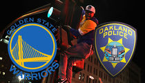 Golden State Warriors Celebration Included Gunfire & Rock-Attacks, Cops Say