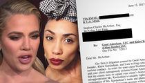 Khloe Kardashian to Destiney Bleu: You're a Liar, I Didn't Steal Your Catsuit!!!