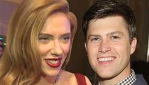 Scarlett Johansson's Date Night with 'SNL's' Colin Jost
