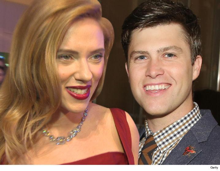 Scarlett Johansson S Date Night With Snl S Colin Jost Tmz Com