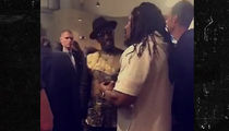 Marshawn Lynch Turns Up with Diddy, Snoop at Warriors Game