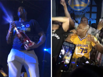 Draymond Green & Too Short Rapped & Raged at NBA Finals After-Party