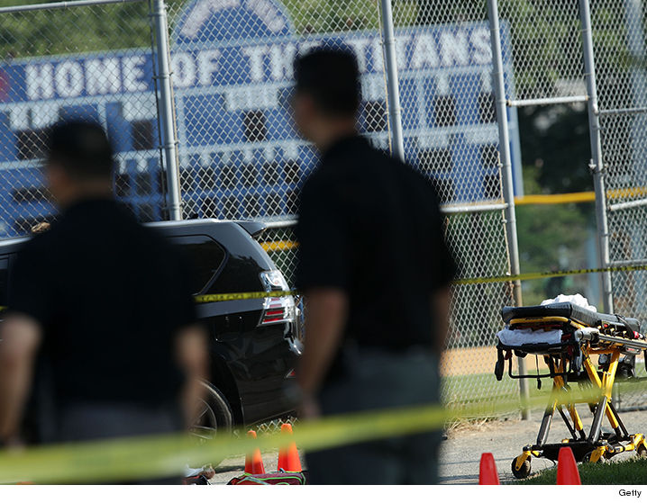 'Get Down!' Terrifying Video Shows Gun Battle at GOP Baseball Practice