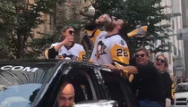 Pittsburgh Penguins Beer Chuggin' Victory Parade