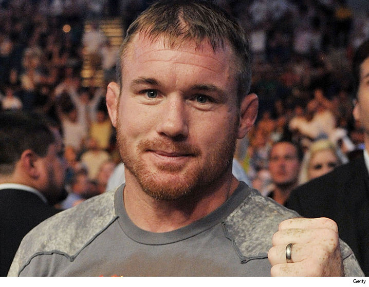 Ex-UFC champ Matt Hughes airlifted after truck collides with train
