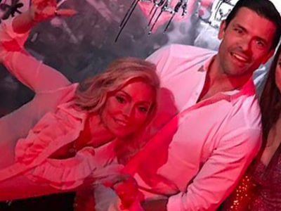 Kelly Ripa & Mark Consuelos' Son Is HOT -- See Rare Photo of All Three of the Couple's Kids!
