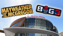 Mayweather vs. McGregor In Venue Standoff With BIG3