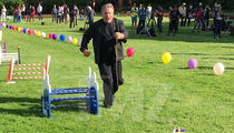 William Shatner Becomes Bunny Rabbit Handler on 'Better Late Than Never'