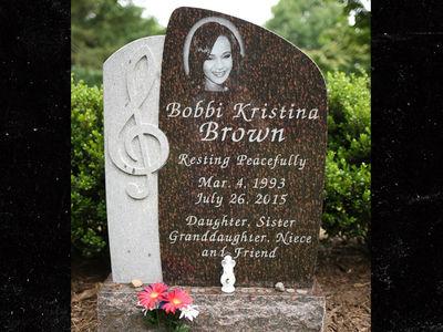 Bobbi Kristina Brown's Headstone Revealed in Family Plot