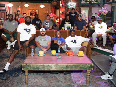 L.A. Rams Rookies Crash 'Friends' Set, Diversity Ensues!