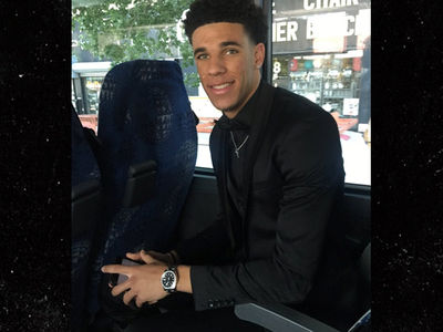 Lonzo Ball Goes All Black Everything for NBA Draft, Check Out the Fashion