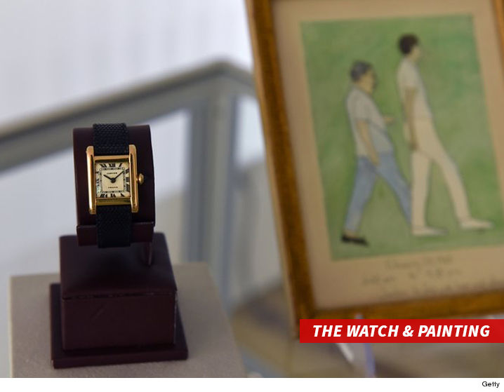 Kim Kardashian Paid $395000 at Auction for Jackie Kennedy's Cartier Watch