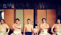 Tom Brady Goes Belly to Fat Belly with Sumo Wrestlers in Tokyo