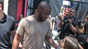Chris Paul -- Befriends Little Girl with Scoliosis, We Got the Same Doc!