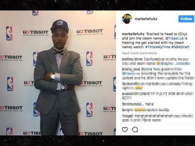 Markelle Fultz Forgets '76ers' In 1st Draft Instagram Post