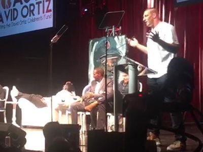 Gronk Zings Jews, Blacks, 'Fat Ass' at David Ortiz Roast