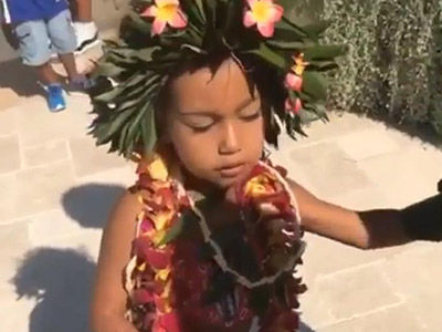North West Makes the CUTEST Moana in Joint Birthday Bash With Penelope