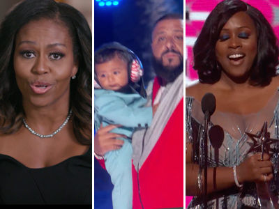 The Only 7 Moments You NEED to See from BET Awards: Obama, Khaled's Kid & Minaj Shade!
