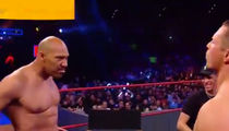 LaVar Ball Takes His Shirt Off at WWE Raw Against The Miz
