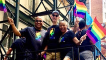 NBA Commish Adam Silver Turns Up On Gay Pride Parade Float
