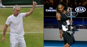 OUCH! Serena Williams Slams John McEnroe & His Sexist Claims