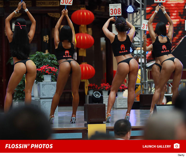 beautiful butts contest  in china!! | tmz