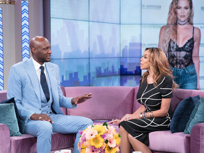 What Lamar Thinks of Khloe Saying She 'Fake Tried' to Get Pregnant With Him (Video)